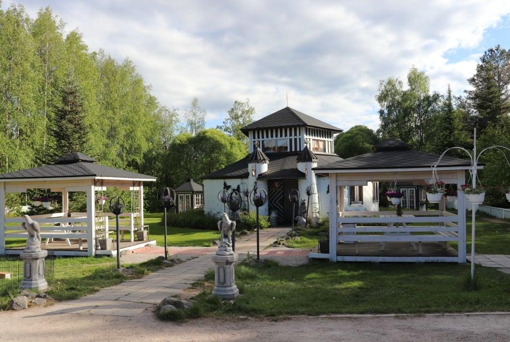 Liminka Blumen- & Tierpark Escurial - Café