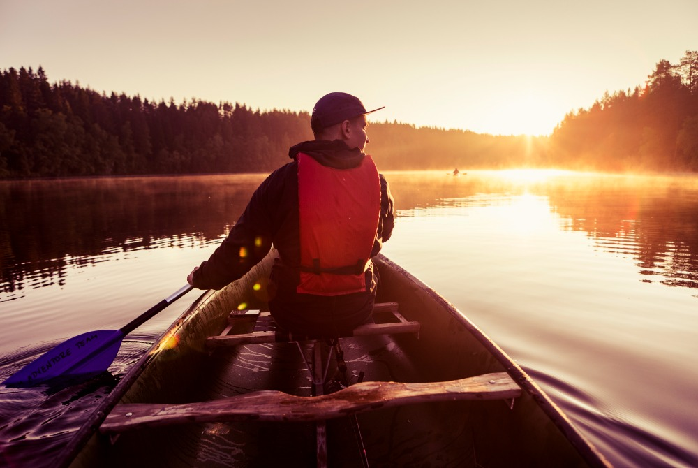 paddling tour