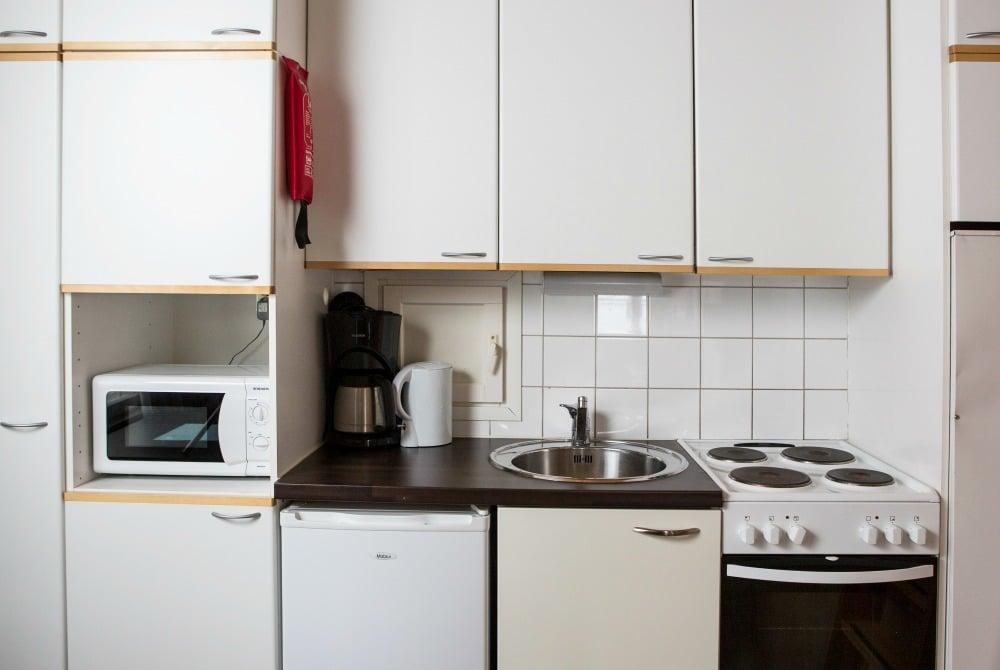 Nallikari Pooki Cottages Kitchen