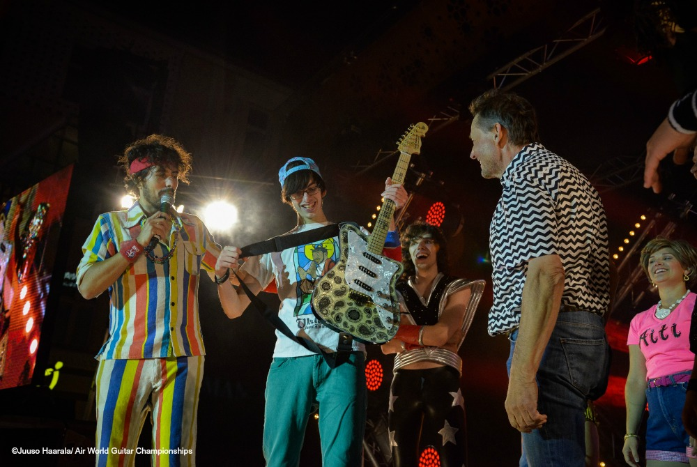Air Guitar World Championship in Oulu