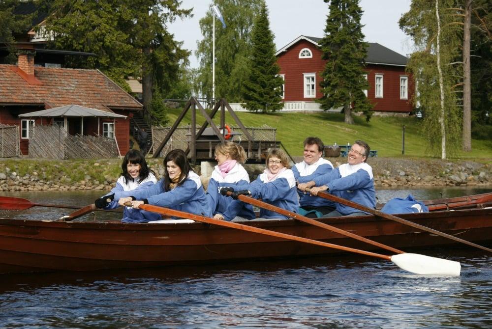 Oulu tar rowers