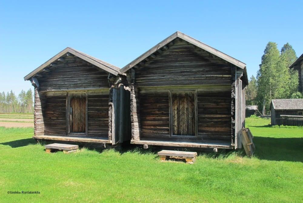 Rokua Farm Lamminaho Holzhütten