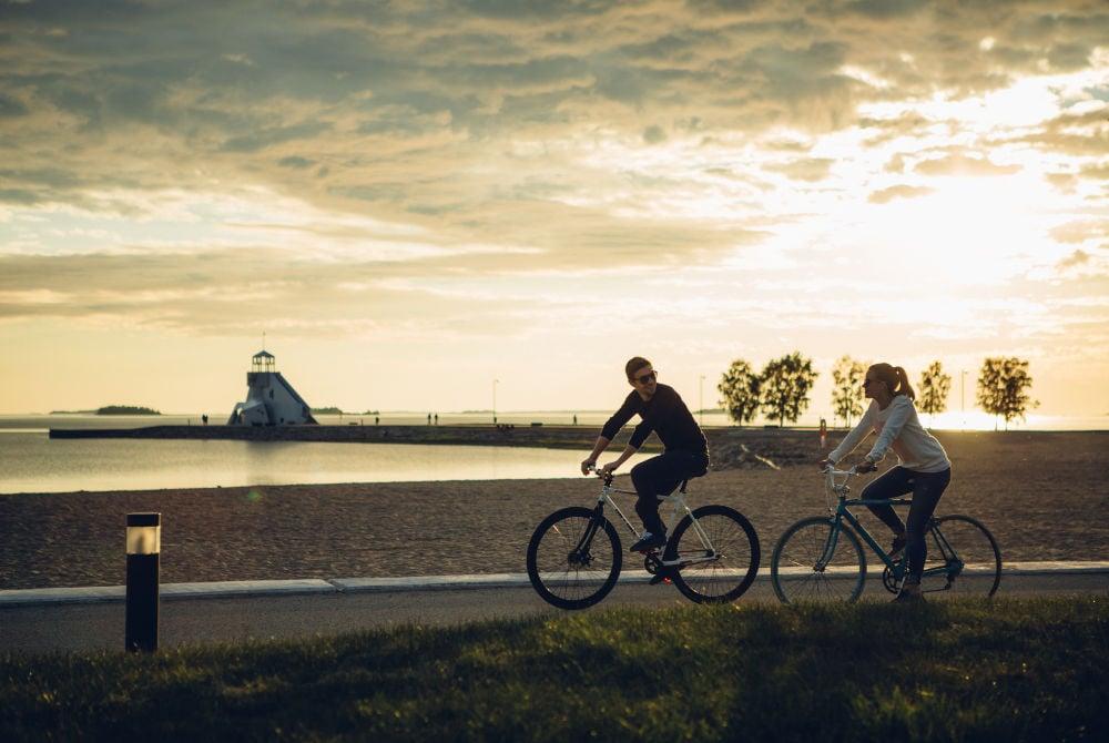 Fahrradtour durch Oulu