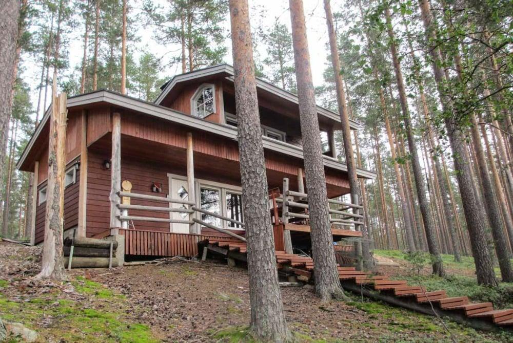 Ferienhaus Kirvesjarven Simpukka