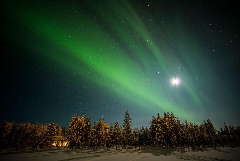 Salla-Nordlichter