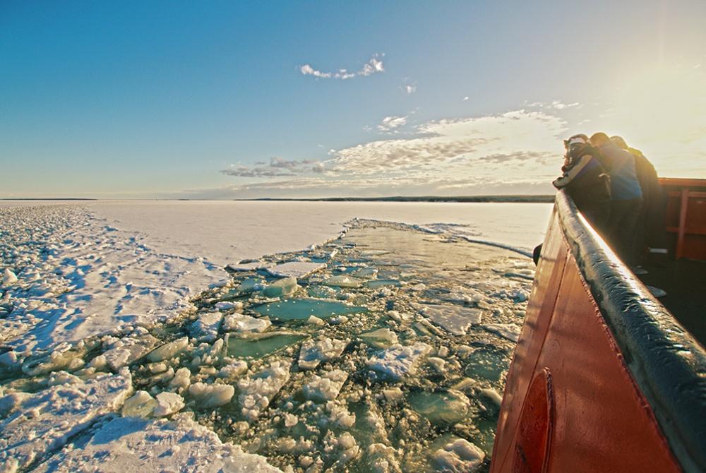 Eisbrecherfahrt mit dem Arctic Explorer