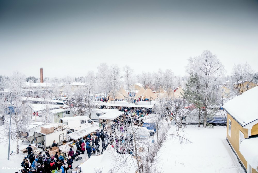 Wintermarkt in Jokkmokk
