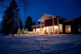 Sörbyn Lodge-Weihnachten-Boden