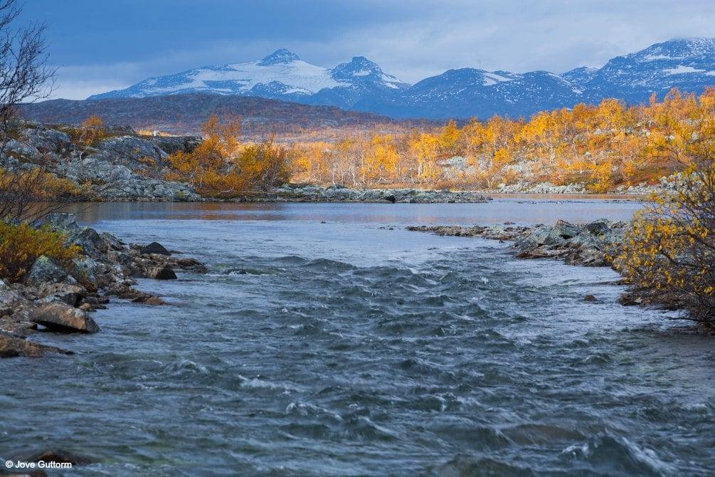 Herbstlandschaft Kiruna-copyright jove guttorm