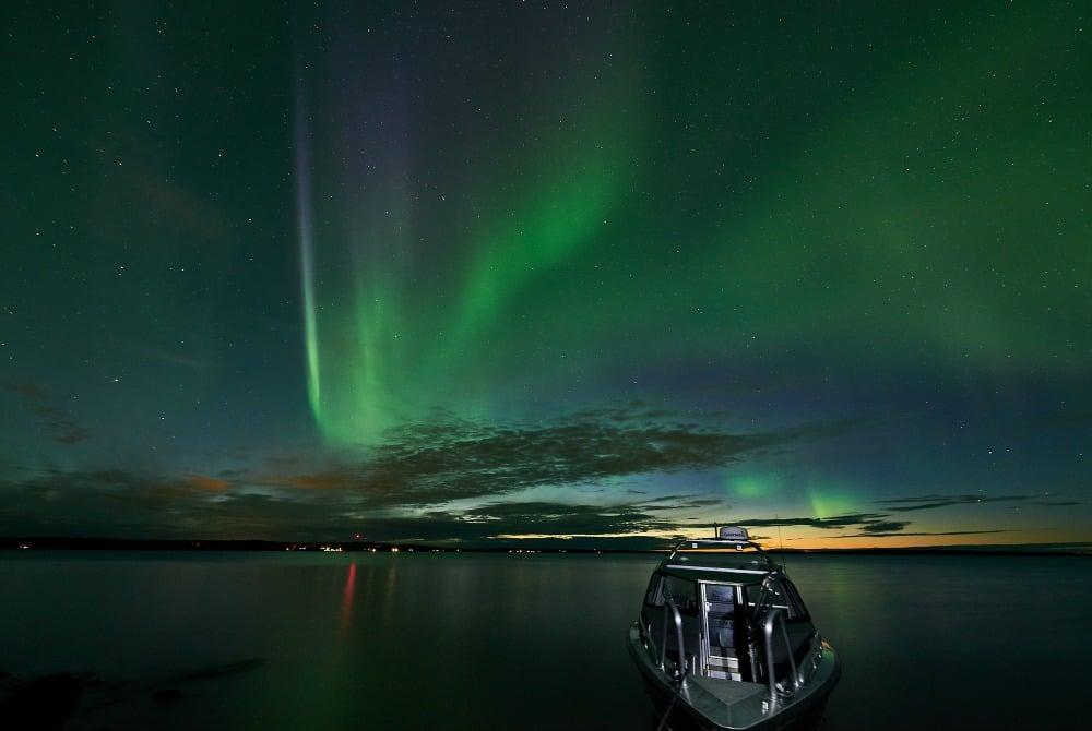 Nordlicht-Bootstour