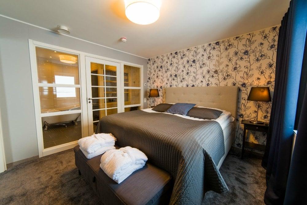 Hotel Hornavan-Zimmer