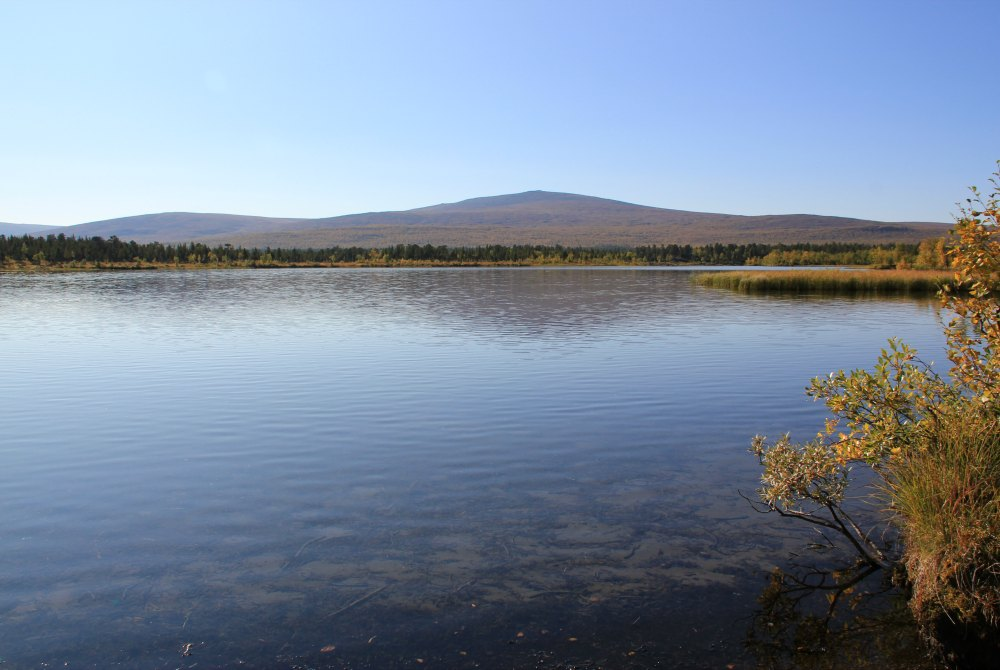 Kiruna-Fluss Kalix