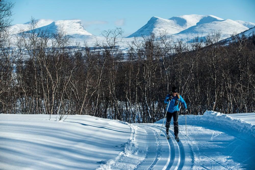 Skilanglauf in Björkliden Fjällby