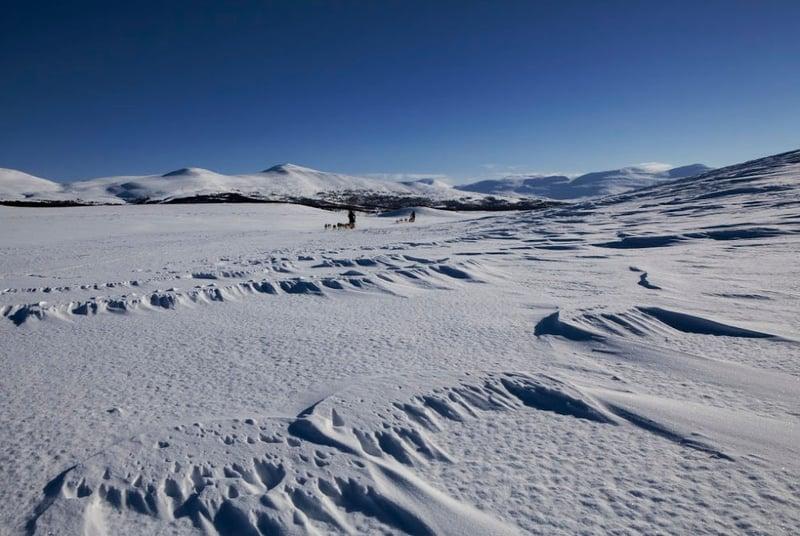 Outdoor-Ticket-Sapmi-Winterlandschaft Sorsele