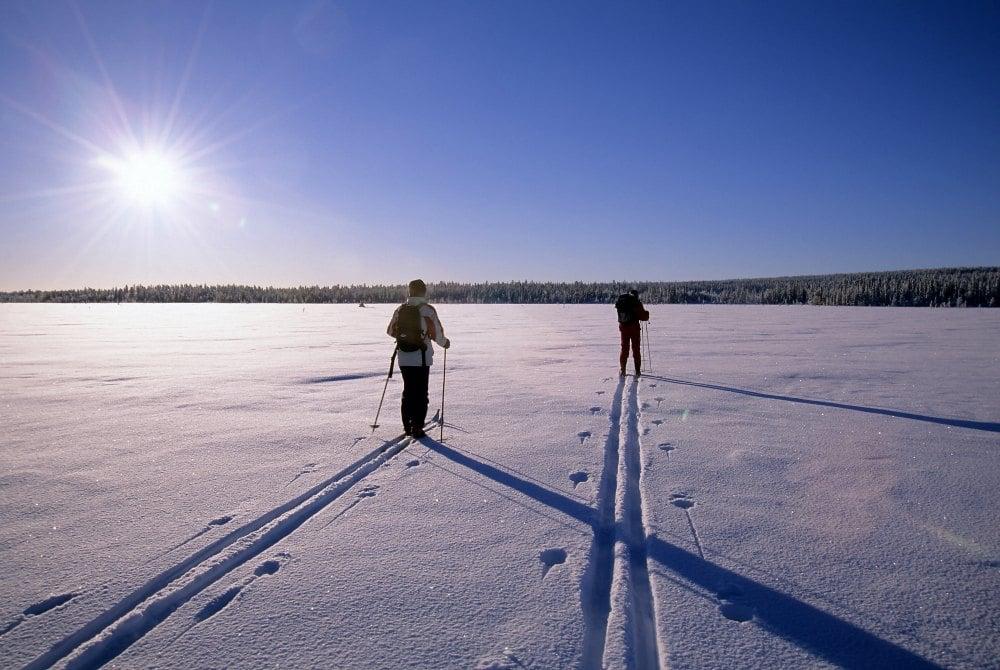 geführte Skitour in Solberget