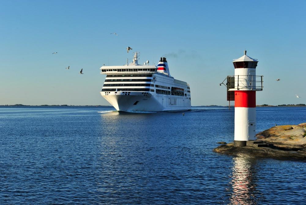 Tallink Silja Schiff Romantika