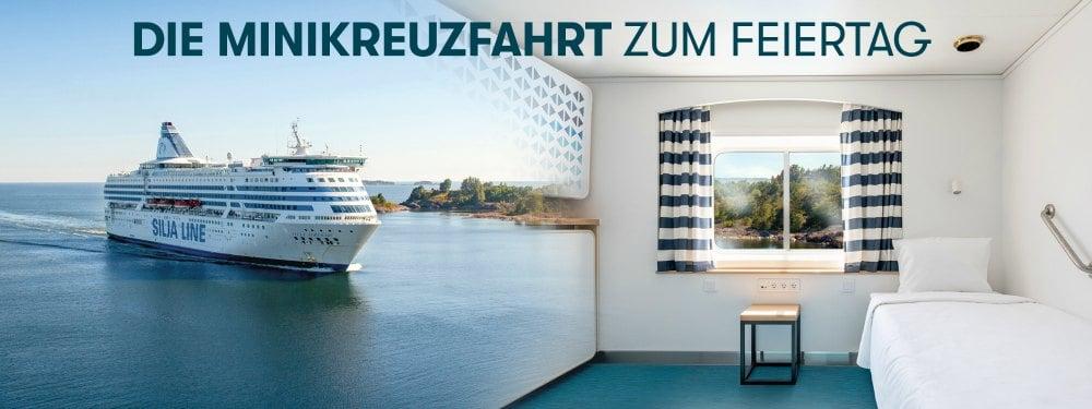 Minikreuzfahrt mit Tallink Silja
