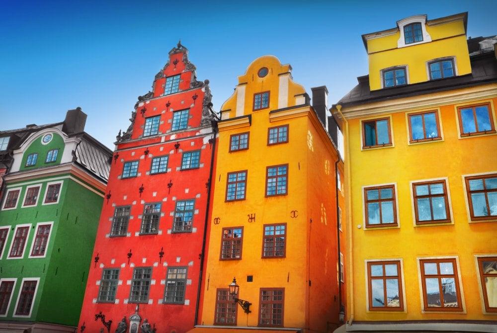 Altstadt in Stockholm