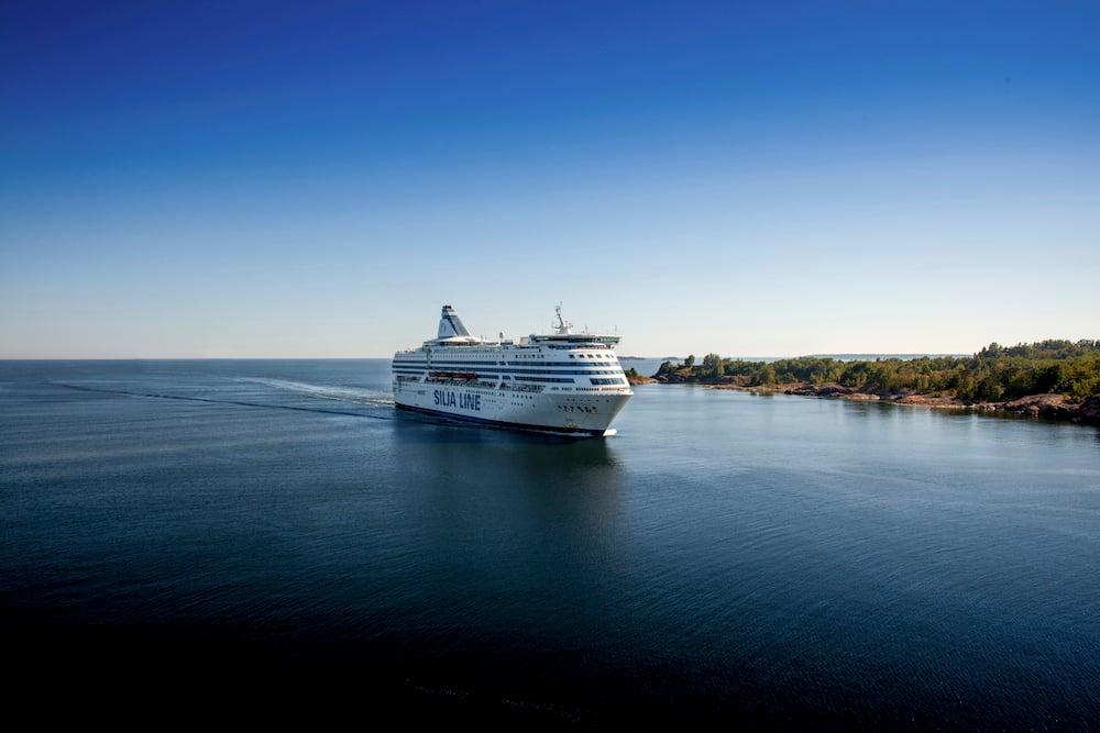 Tallink Silja Schiff auf See