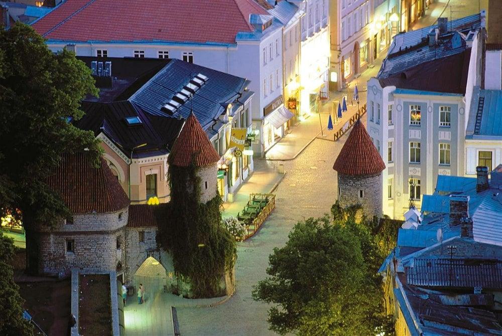 Altstadt in Tallinn