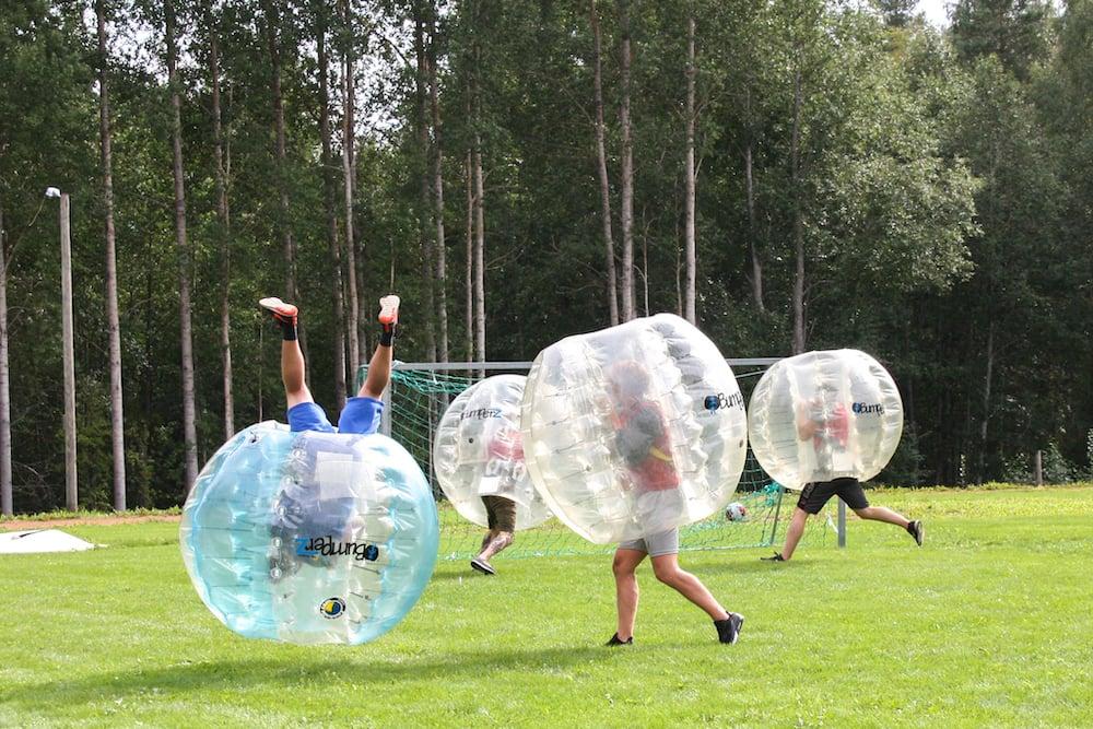 Tampere Grr8tsports Bubble Fußball
