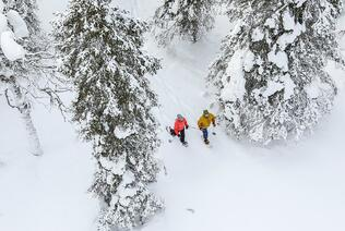 Ukkohalla Schneeschuhwandern