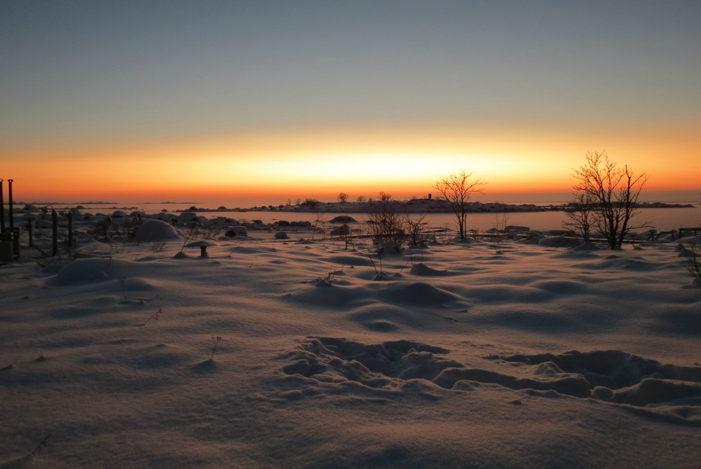 kalles inn winterlandschaft kvarken archipel