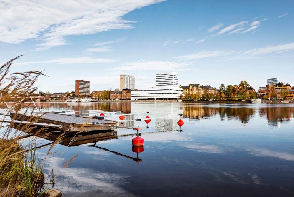 Stadtbild Umeå