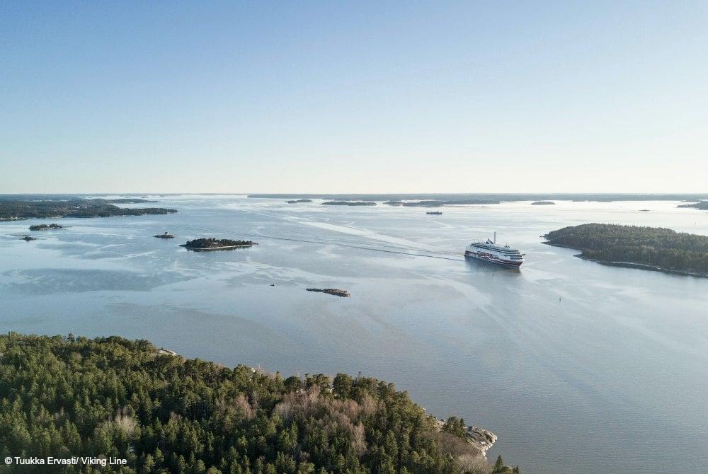 malerische Schärenlandschaften zwischen Schweden und FInnland