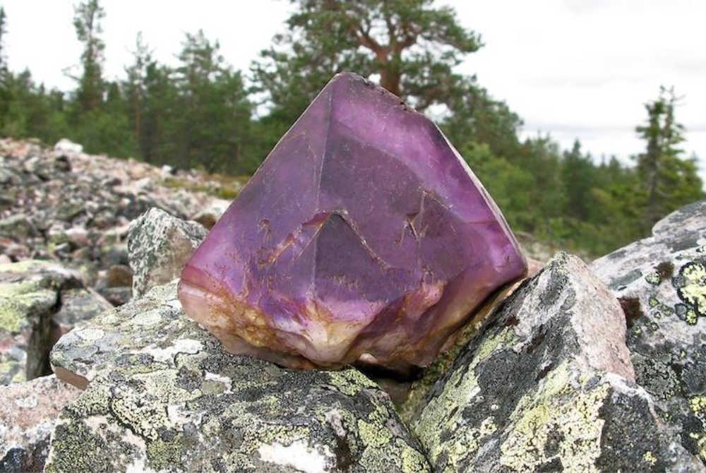 Amethyst Mine in Pyhä