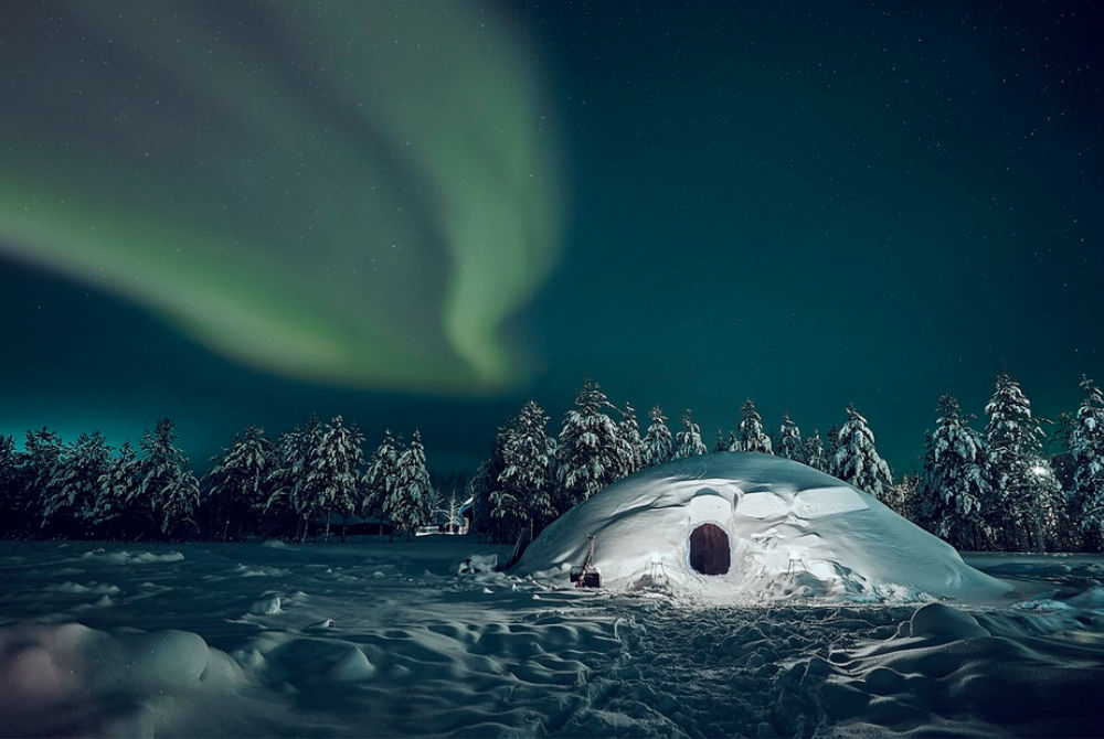 Northern Lights in Pyhä