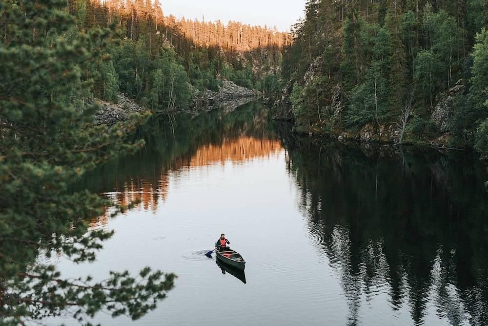 Finnland_Hossa_Nationalpark_Kanu_Marjaana-Tasala