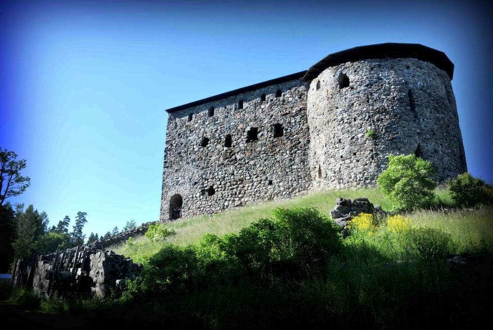 Raseborg Schlossruinen