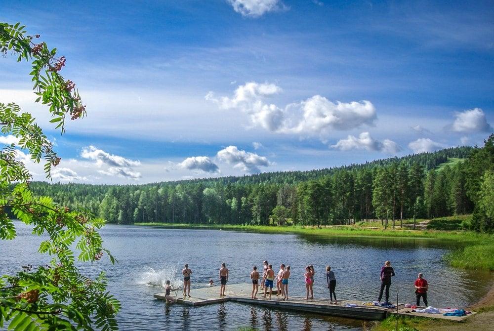 Sommer in Vuokatti