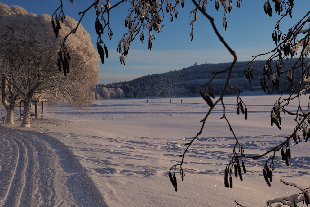 Winterlandschaft Vuokatti