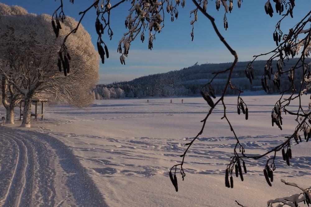 Winter landscape Vuokatti