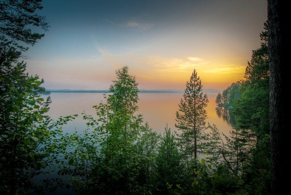 Finnische Natur in Vuokatti