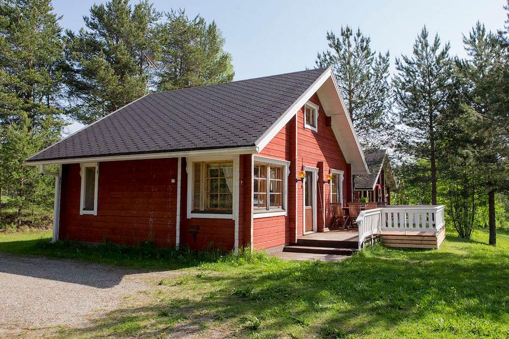 Ferienhaus Lokki im Feriendorf Lentiira