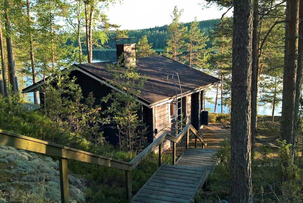 Saimaatours-Ferienhaus am See