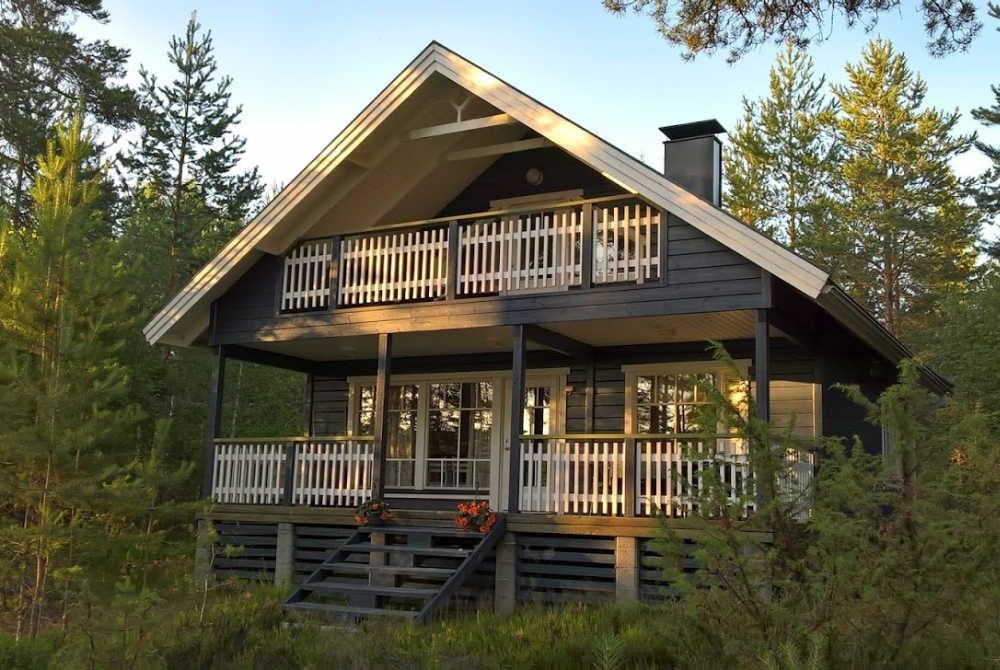 Ferienhaus am Saimaa-See