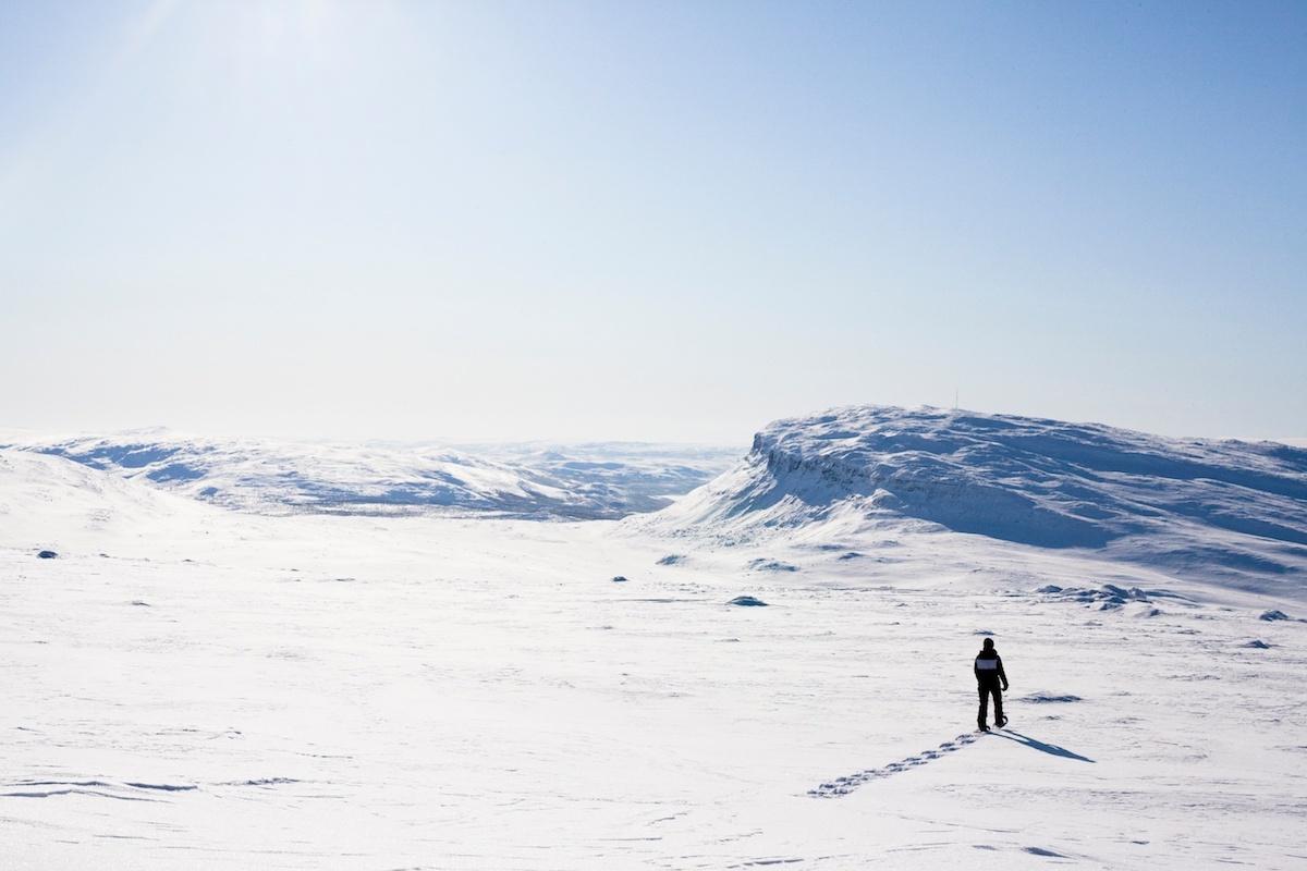 Kilpisjärvi in Finnisch Lappland