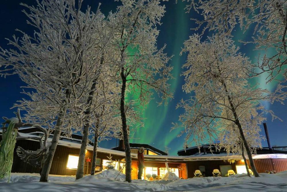 Máttaráhkká Nordlicht-Lodge Kiruna