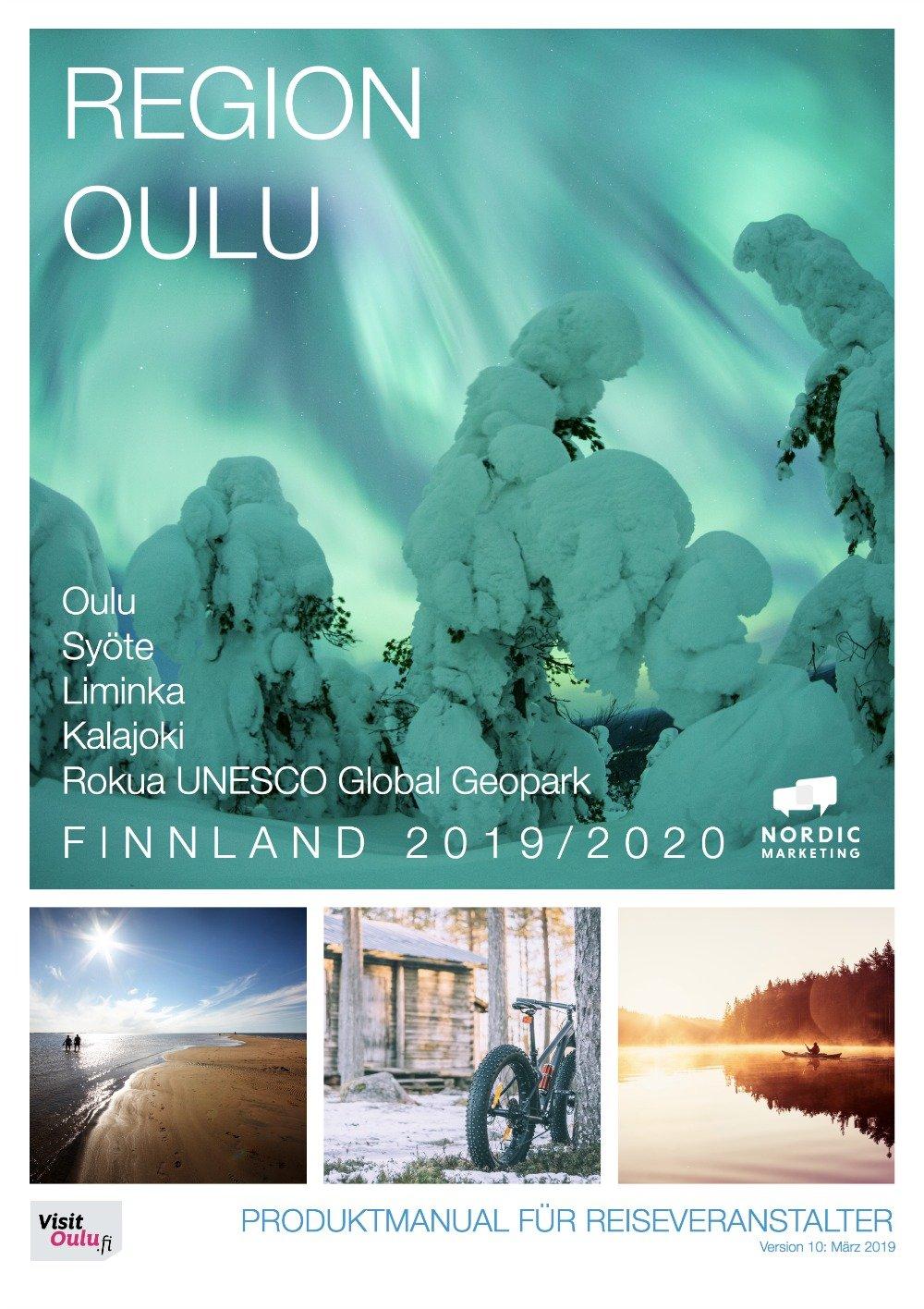 Produktmanual Region Oulu-Finnland 2019-2020