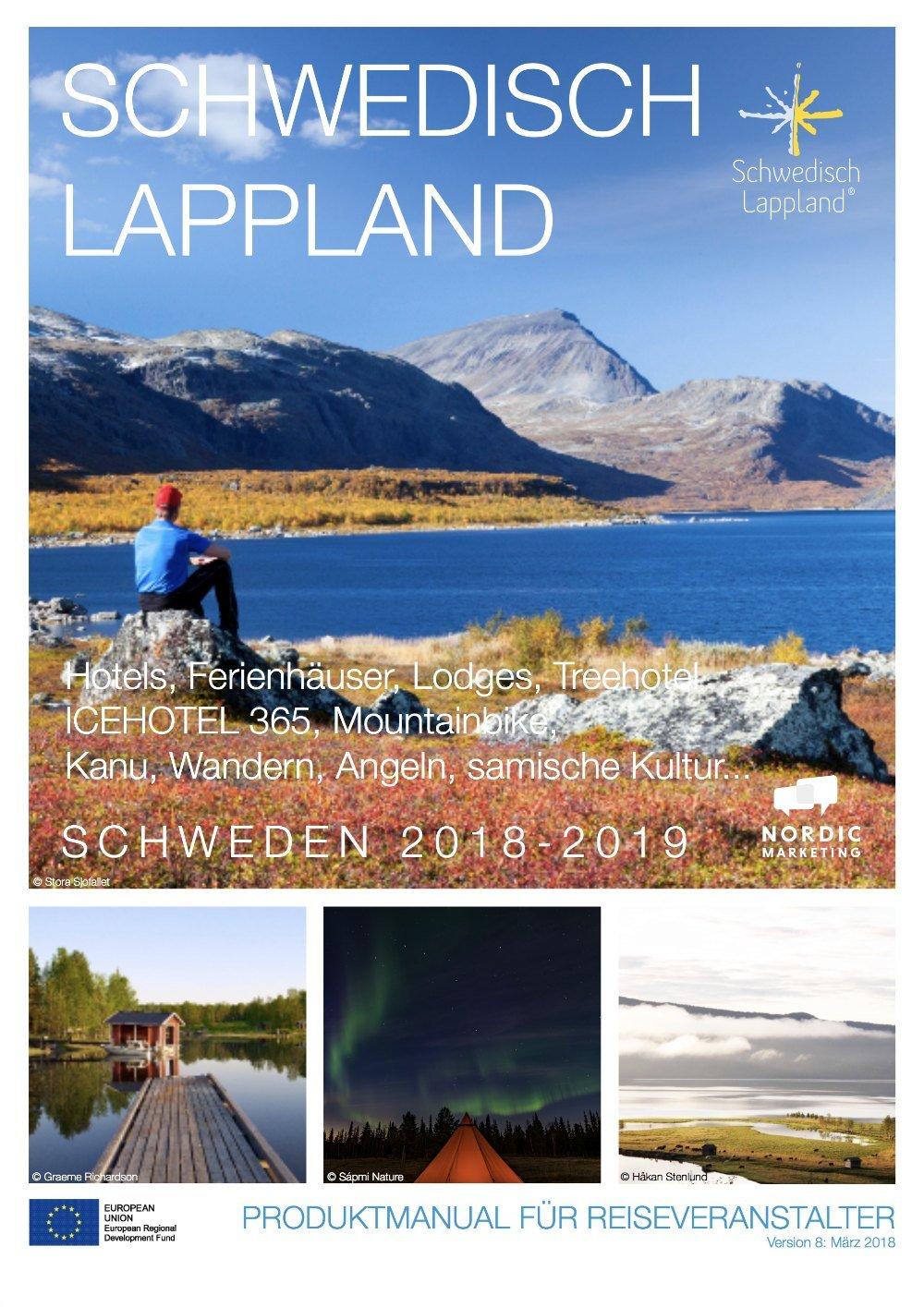 Produktmanual Schwedisch Lappland Sommer 2018-2019
