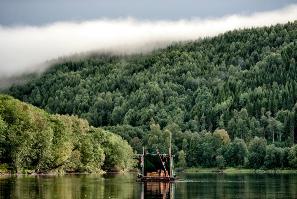 Floßfahrt in Värmland