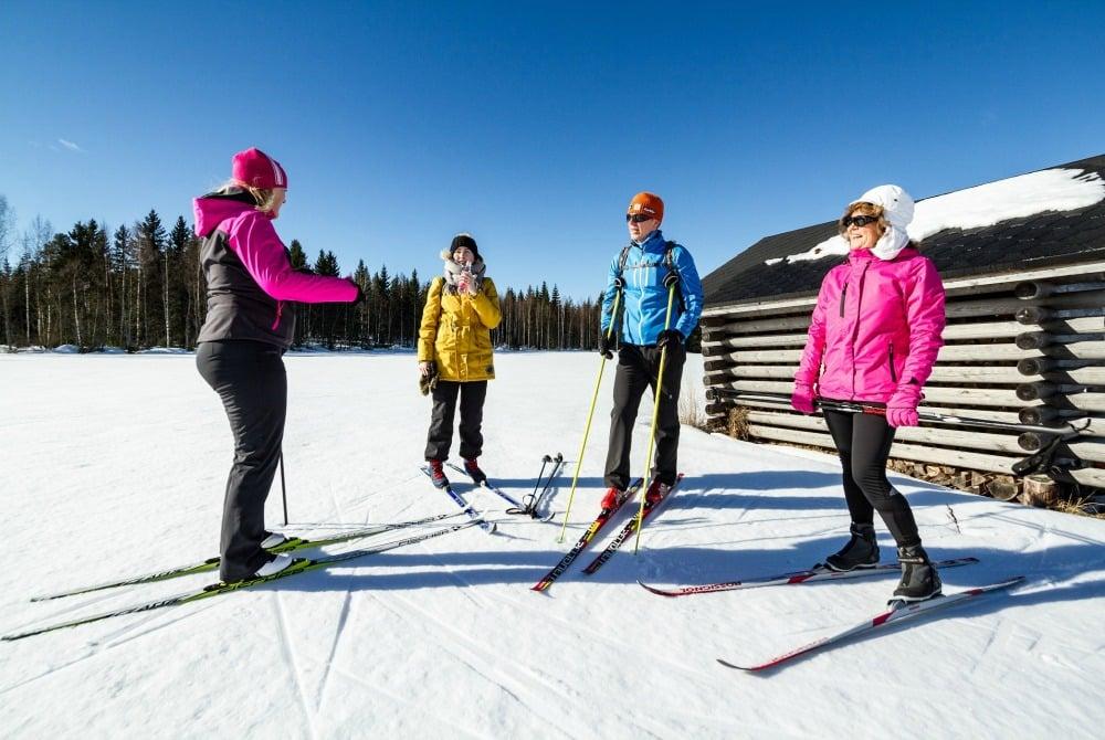 Skitour von Gasthaus zu Gasthaus