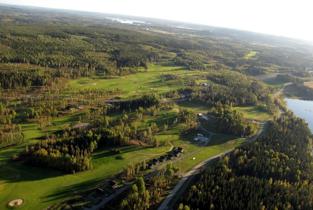 Luftaufnahme von Himos