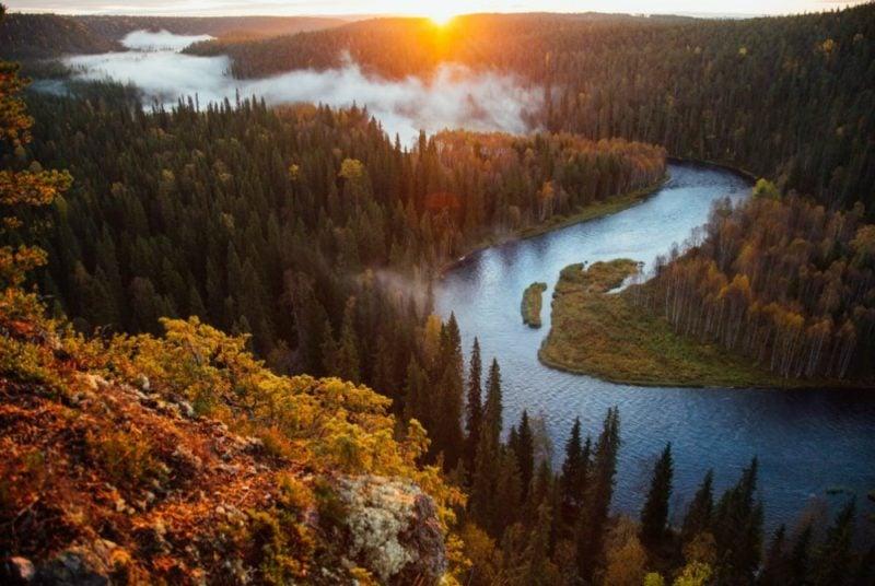 Nationalpark in Finnland