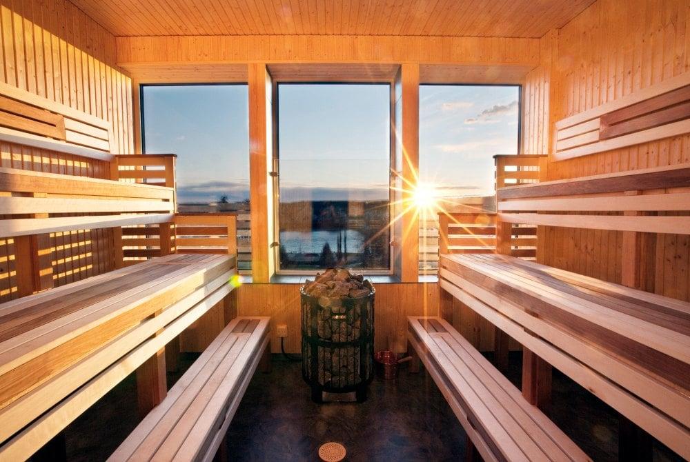 Sky Sauna im Quality Hotel Skellefteå