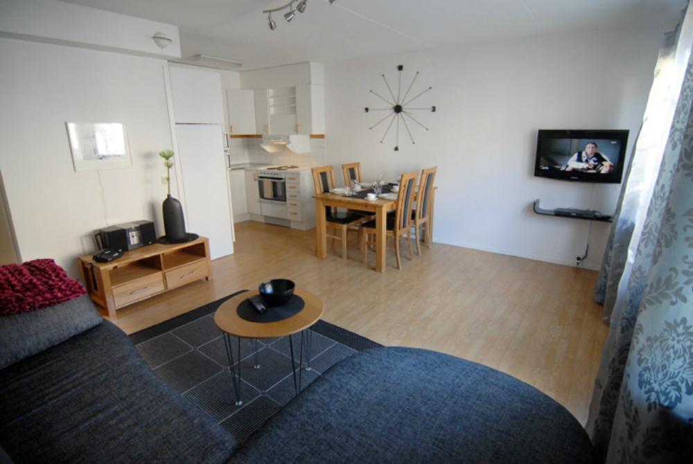 Simloc Hotel Apartment Wohnbereich